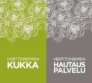 Logo - Herttoniemen Kukka